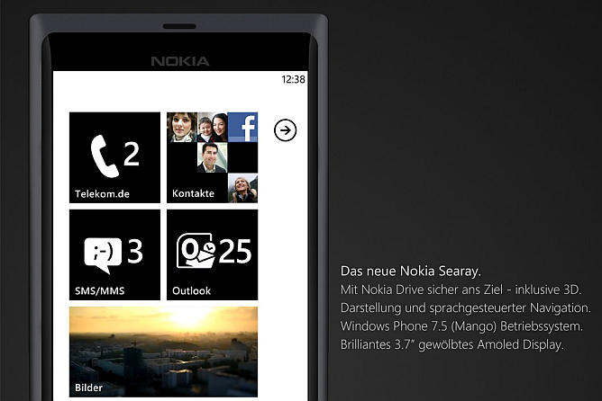 nokia searay windows phone 7.5 mango t-mobile