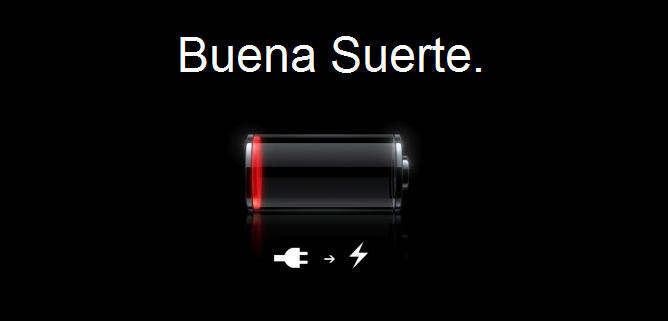 apple ios iphone bateria baja