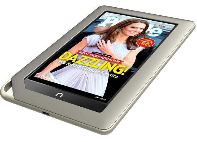 barnes and noble nook tablet 2011