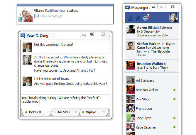 facebook messenger windows 7