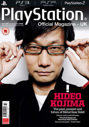 hideo kojima playstation official magazine uk metal gear 5
