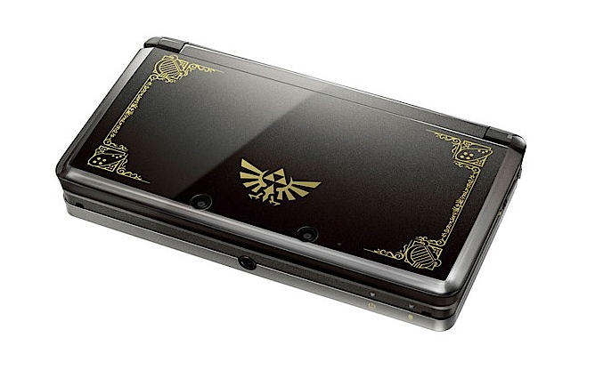 nintendo 3ds Cosmo Black zelda 25th anniversary limited edition a