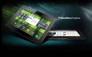playbook blackberry, tableta de rim