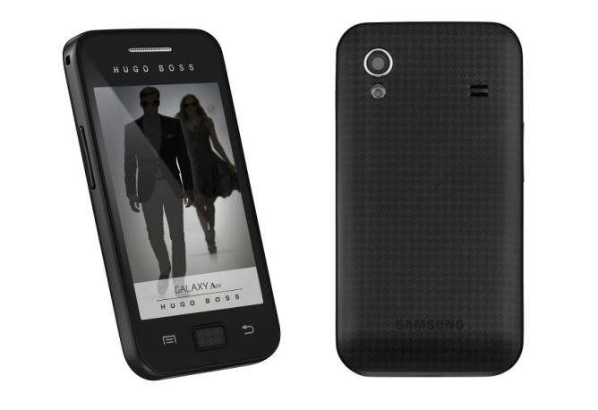 samsung galaxy ace hugo boss edition