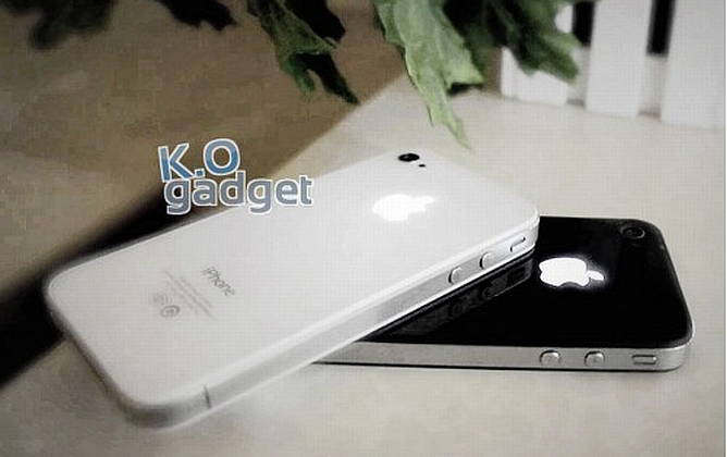 Luminescent Logo Mod Kit for iPhone 4 4S