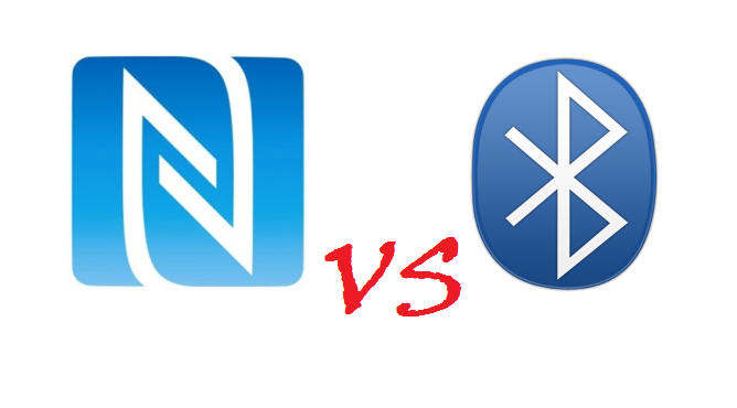 nfc vs bluetooth