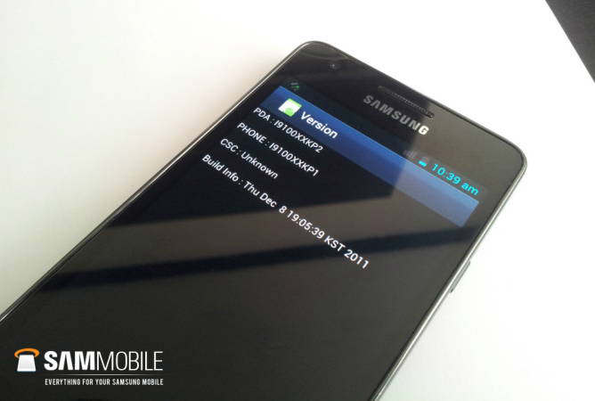 samsung galaxy s ii ice cream sandwich rom