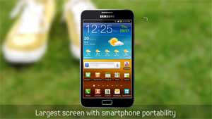 Samsung Galaxy Note LTE llegará a AT&T en el 2012 (Video)