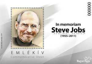 Sello Postal de Steve Jobs