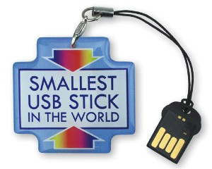 smallest usb stick in the world