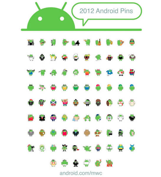 android pines