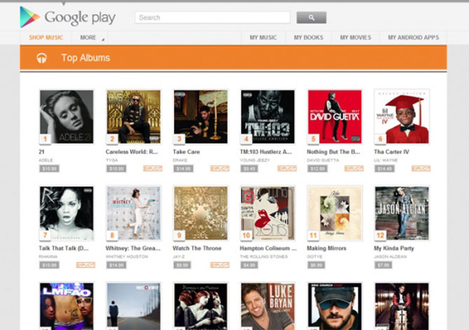 google play itunes