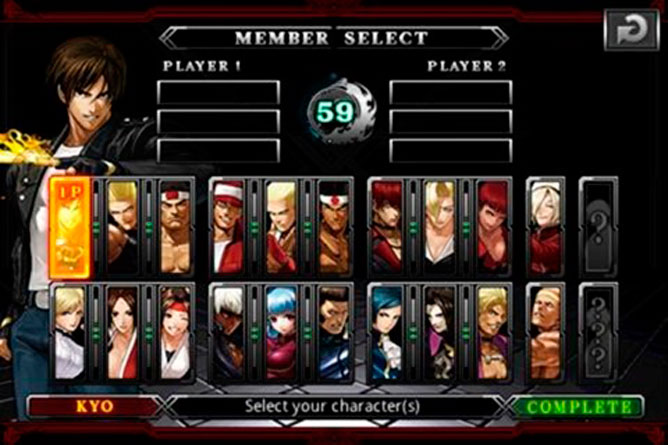 kof android
