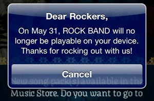 ios rock band