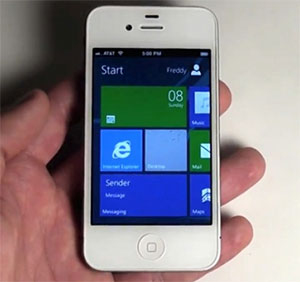 iphone windows 8