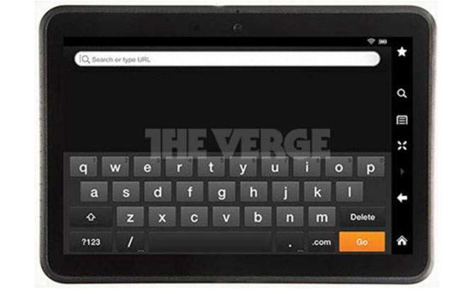 kindle fire keyboard