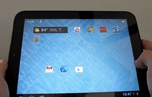 touchpad jelly bean