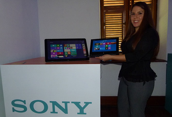sony vaio touch
