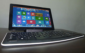 Review de Windows 8 en la Samsung Slate PC