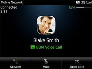 blackberry voice