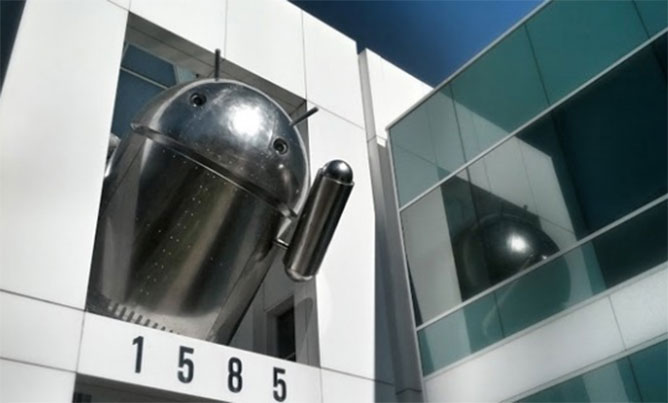 android-cromado