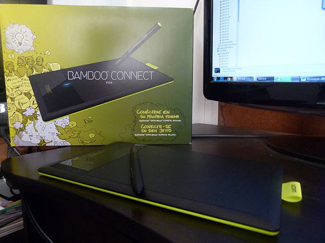 Review: Bamboo Connect Pen, una tablet para diseñadores