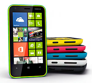 Nokia Lumia con Windows 8