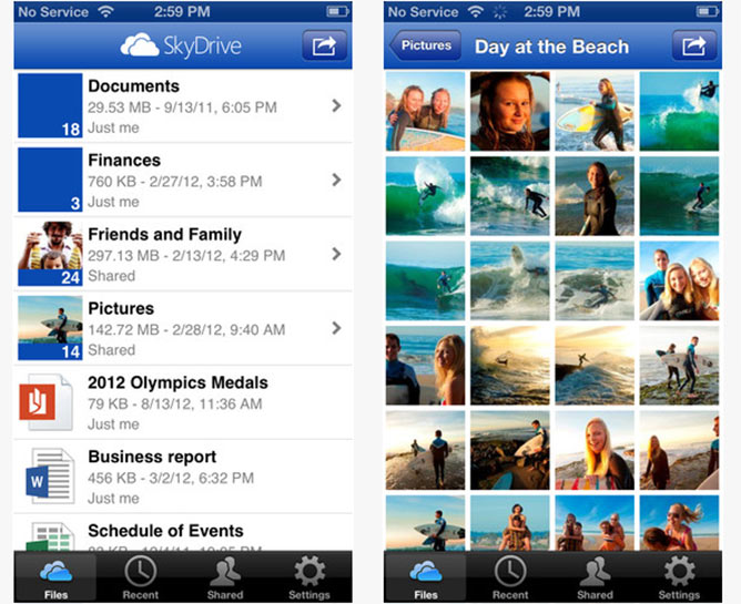 skydrive-ios