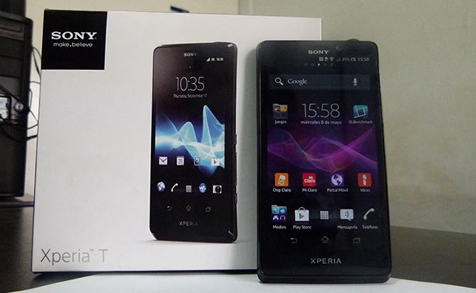 Review: Sony Xperia T