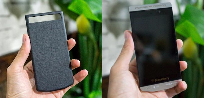 BlackBerry Z10 Porsche Design: Fotos filtradas