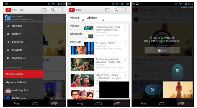 google-youtube-android