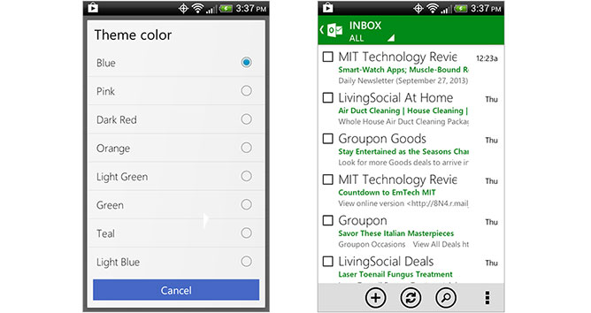 android-outlook