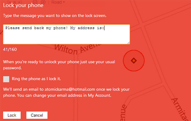 find-phone-block