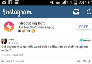 instagram-bolt