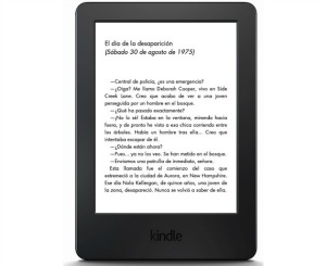 Amazon presenta nuevo Kindle