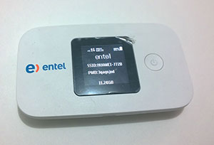 Review: Router móvil Huawei E5377 con 4G LTE de Entel