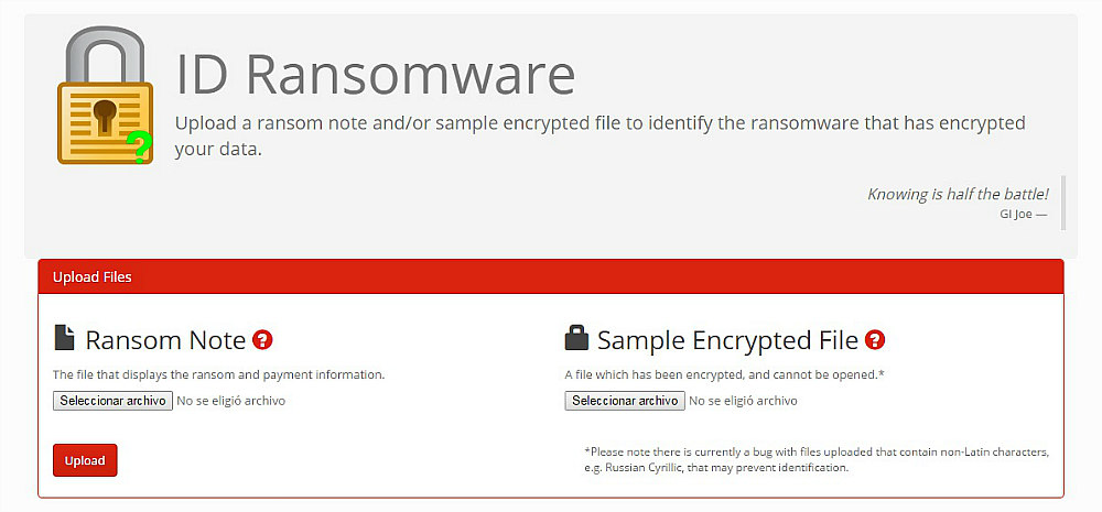 id-ransomware