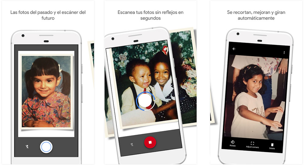 Google PhotoScan: Transforma tus fotos físicas en digitales con esta app