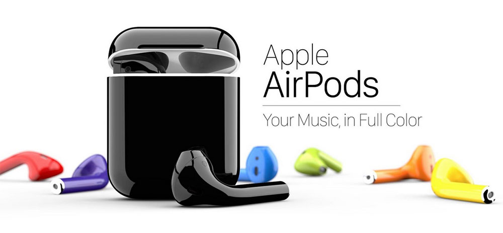 Apple AirPods: ColorWare los pinta del color que quieras