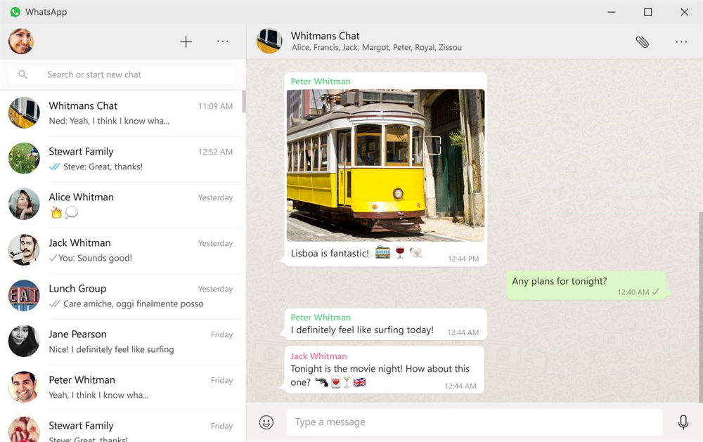WhatsApp Desktop ya está disponible en la Tienda de Windows