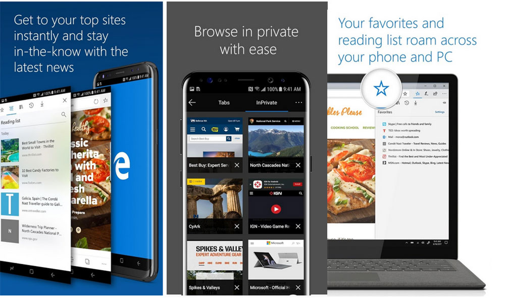 Android: Microsoft Edge Preview ya está disponible