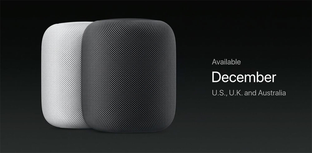 Apple retrasa el HomePod hasta 2018