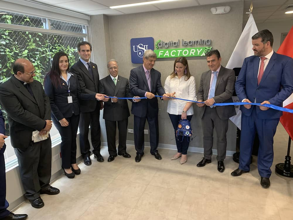 Inauguración de USIL Digital Learning Factory