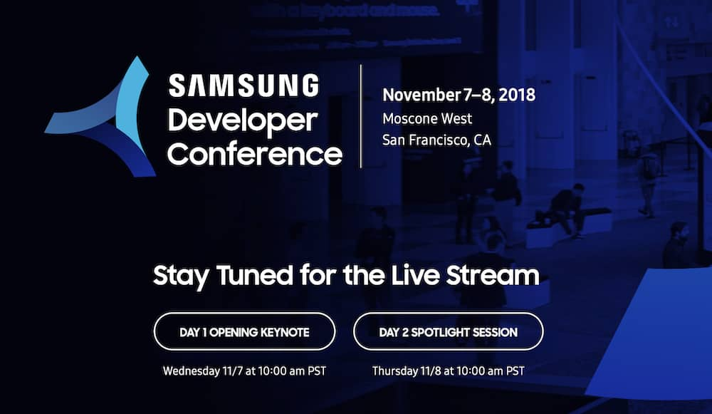 ¿Cómo ver la Samsung Developer Conference 2018?