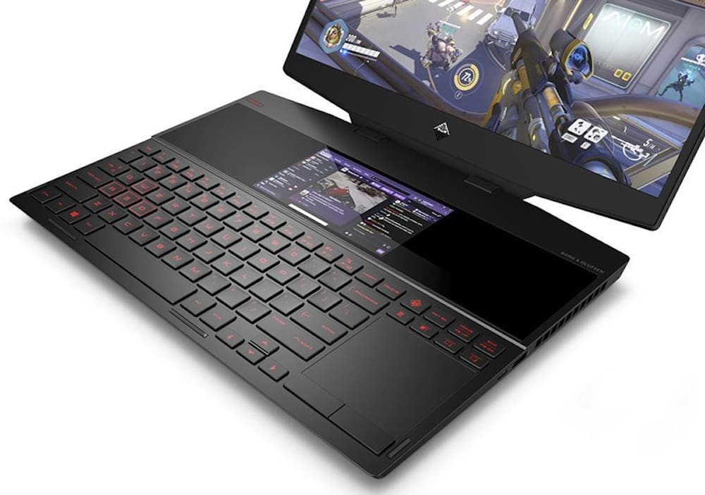 HP presenta la primera laptop gamer con doble pantalla