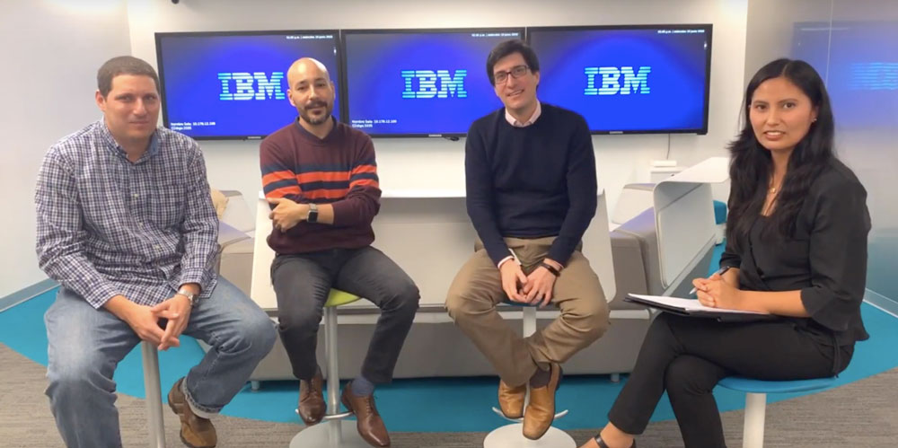 Entrevista sobre transformación digital con especialista de IBM