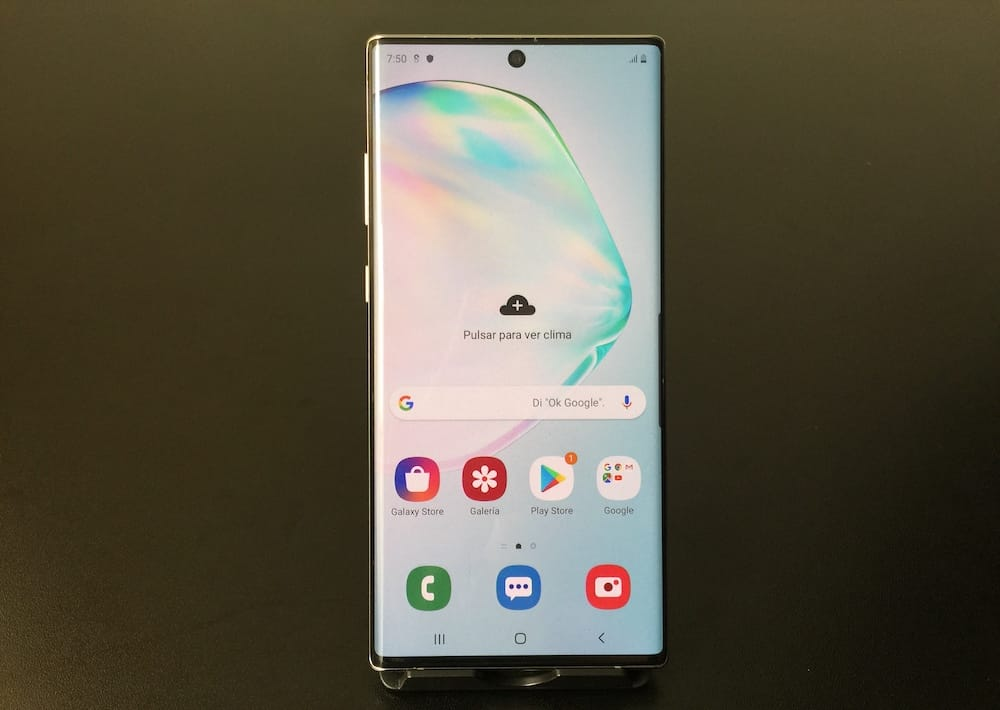 Pantalla del Samsung Galaxy Note 10 Plus